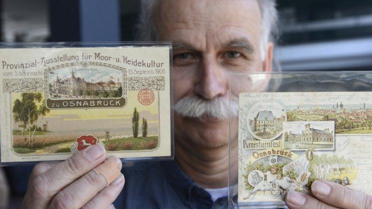 Ansichtskarten aus Osnabrück, Foto: Hermann Pentermann