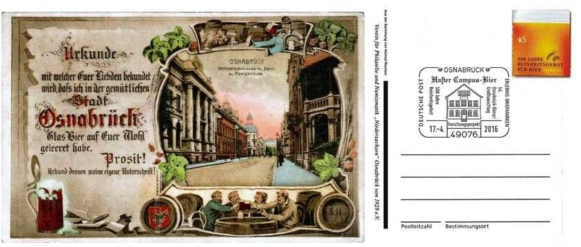 Postkarte mit PWZ+St.