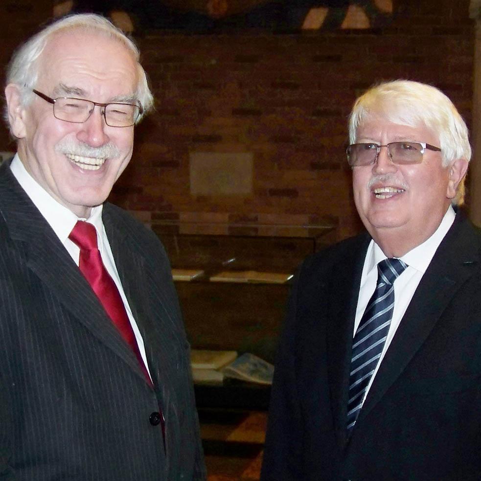 Neumann und Müller (v.l.)